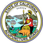 CA Acupuncture Board Seal