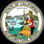 CA Acupuncture Board Seal
