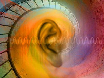 Audio collage image