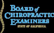 California Board of Chiropractic Examiners logo